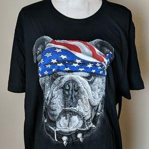 Patriot Bulldog Tee NWT